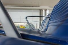 Platser för flygplatsterminal Arkivfoton