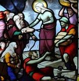 Platser från livet av St Genevieve arkivfoton