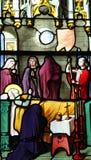 Platser från livet av St Genevieve royaltyfria bilder
