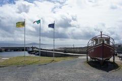 Platser från Tory Island, Donegal, Irland Arkivbild