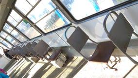 Platser i en smolensk spårvagn arkivfoton