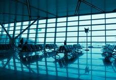 Platser i flygplatsen arkivbilder