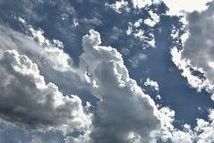 Platser i himlen Royaltyfri Foto