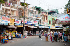 platsgata vietnam Royaltyfri Foto