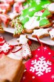 Platta av handgjorda kakor Fotografering för Bildbyråer