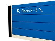 platta för byggnadsriktningskontor Royaltyfri Foto