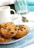 platta för chipchokladkakor Fotografering för Bildbyråer
