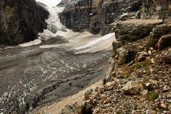 Platta till av de sex glaciärerna Arkivbilder