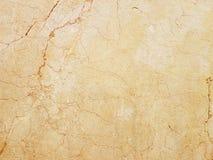 Plattan göras av gul marmor med röda strimmor brunaktig-vit skuggor Släta textur för design och garnering Naturliga bu arkivbild