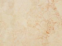 Plattan göras av gul marmor med röda strimmor brunaktig-vit skuggor Släta textur för design och garnering Naturliga bu royaltyfria foton