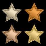 plattastjärna Royaltyfri Fotografi