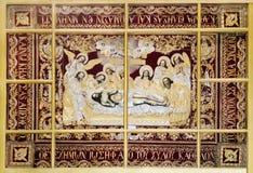 Platte - Abbau des Körpers vom Kreuz des Retters Lizenzfreie Stockfotos