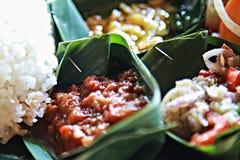 Platte der köstlichen Salatmischung Geschmackvolle gesunde Nahrung Stockfotos