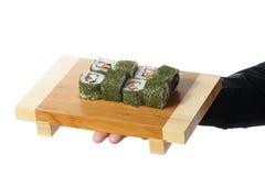 Platte der Sushi Stockfotografie