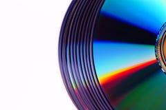 Platte des CD/DVD Stockbild