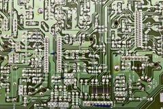 Platte des elektronischen Kreisläufs Lizenzfreie Stockfotografie