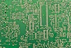 Platte des elektronischen Kreisläufs Stockbild