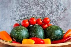 Platte des Gemüses Lizenzfreie Stockfotografie
