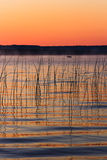 Platte Lake Dawn Royalty Free Stock Photos