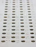 Platte mit Blendenöffnungen Lizenzfreie Stockbilder