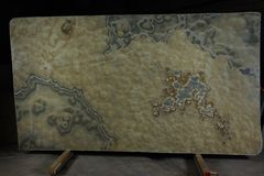 Platte Naturstein rauchigen Onyxes, betrachtet, Halbedel- und habend einen Effekt 3d zu sein lizenzfreie stockfotografie
