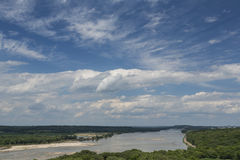 Platte River Scenic Royalty Free Stock Image