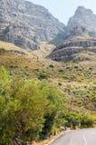 Platteklipkloof (flat stone ravine) on Table Mountain Stock Image
