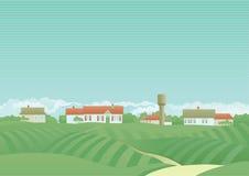 Platteland Royalty-vrije Stock Afbeeldingen