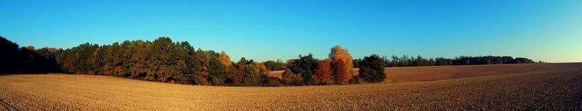 Platteland in de herfst Royalty-vrije Stock Foto's