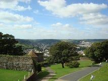 Platteland in Dover, Engeland Royalty-vrije Stock Afbeeldingen