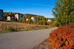 Platteland in Finland Royalty-vrije Stock Afbeelding