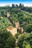 Platteland in Florence, Italië Royalty-vrije Stock Foto