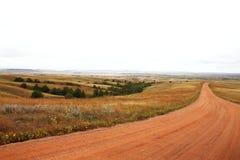 Platteland het Zuid- van Dakota Stock Foto