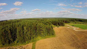 Platteland, plattelandsgebieden Royalty-vrije Stock Afbeeldingen