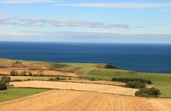 Platteland (Schotland, het UK) Royalty-vrije Stock Fotografie