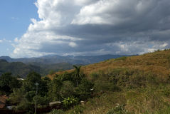 Platteland, Trinidad, Cuba stock afbeeldingen