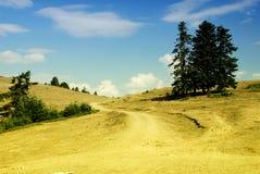 Platteland in Turkije Stock Foto's