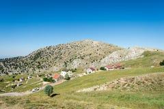 Platteland in Turkije Royalty-vrije Stock Afbeelding