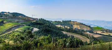 Platteland in Umbrië Stock Foto's