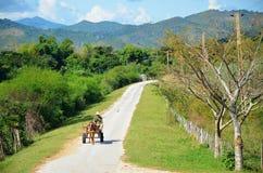 Platteland van Cuba en zijn mensen Royalty-vrije Stock Foto's