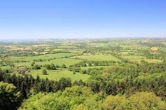 Platteland van Engeland van het Zuidwesten royalty-vrije stock afbeelding