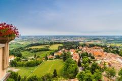Platteland van Romagna in Italië Stock Fotografie