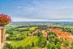 Platteland van Romagna in Italië Royalty-vrije Stock Afbeelding