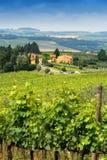 Platteland van Toscanië, Italië Royalty-vrije Stock Afbeelding