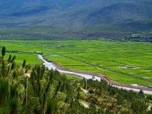 Platteland in zuidelijk China #2 Stock Afbeeldingen