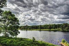 Platteland in Zweden Royalty-vrije Stock Foto