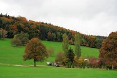 Platteland Zwitserland Stock Afbeelding