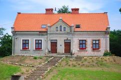 Plattelandshuisje Royalty-vrije Stock Foto