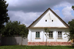 Plattelandshuisje Stock Foto
