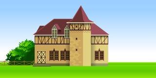 Plattelandshuisje Royalty-vrije Stock Afbeelding